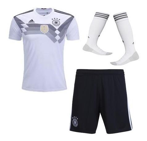 uniforme completo alemania 2018 - camiseta short medias