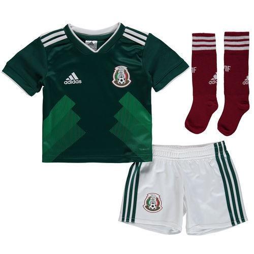 6e9d17f514a15 Uniforme Completo Mexico Niño Mundial 2018 -   1