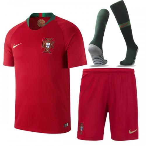 78727f77ab364 Uniforme Completo Seleção De Portugal (frete Grátis) - R  199