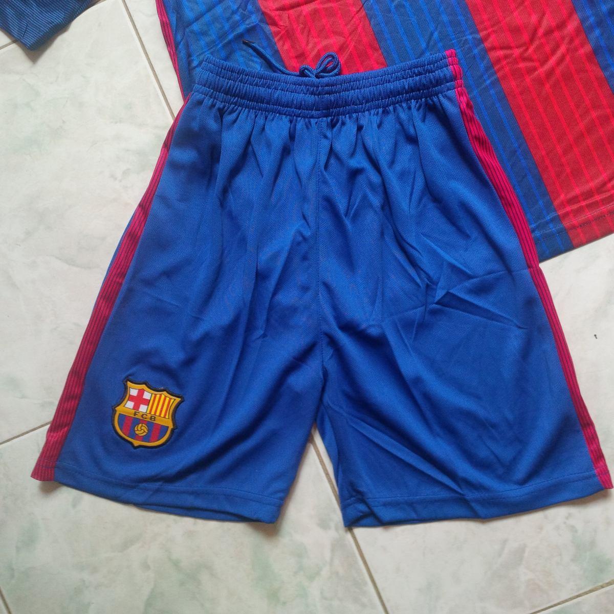 303f3bd9cc2b6 uniforme conjunto barcelona fc azulgrana 2017 adultos niños. Cargando zoom.