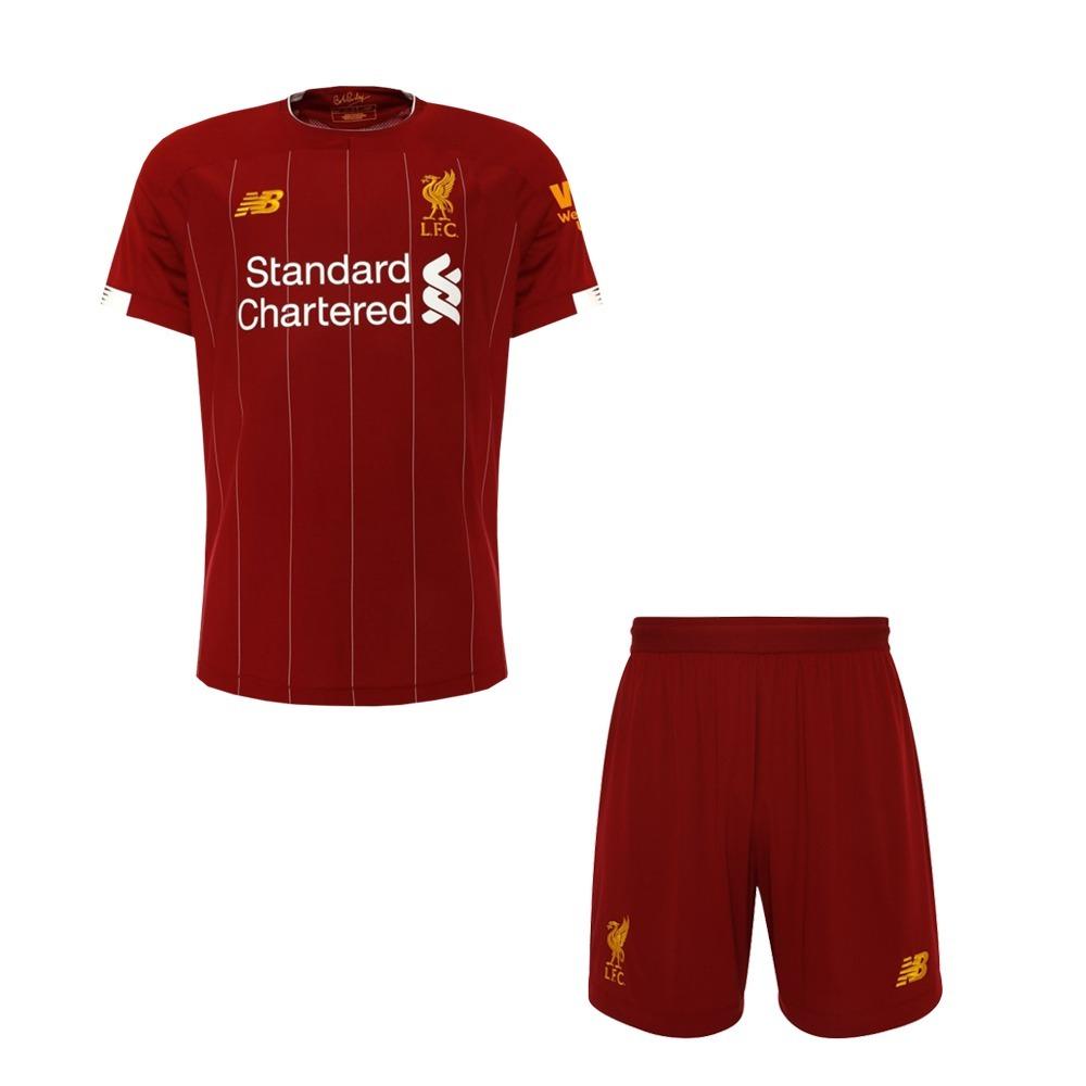 f474065c03 Uniforme Conjunto Do Liverpool Infantil Original - Promoção - R$ 119 ...