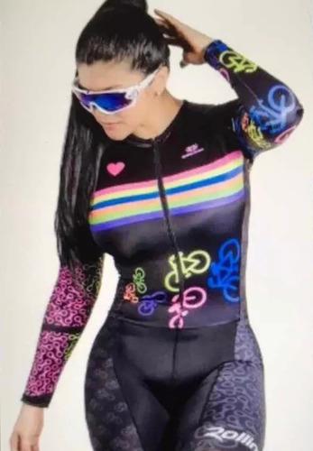 uniforme corto ciclista manga corta mtb ruta gel + obsequios