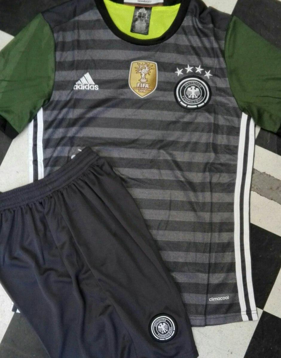 6612282a54b30 Uniforme De Futbol Alemania Visitante -   690.00 en Mercado Libre
