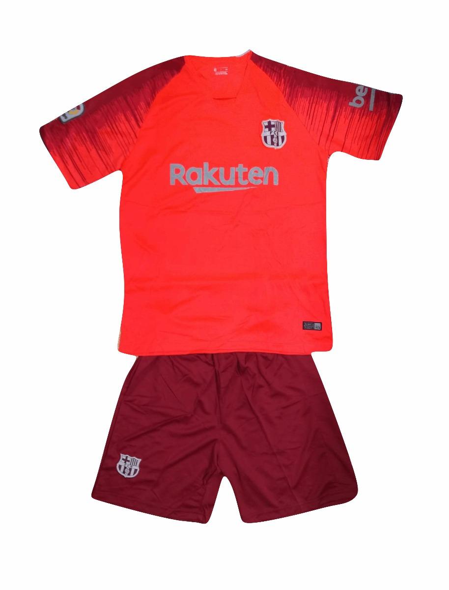 dcac67796e472 uniforme de futbol barcelona rojo 2018-2019 envio gratis. Cargando zoom.