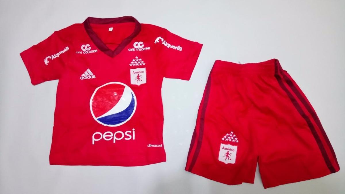 b684d247035d2 Uniforme De Fútbol Bebe Niño America De Cali -   125.000 en Mercado ...