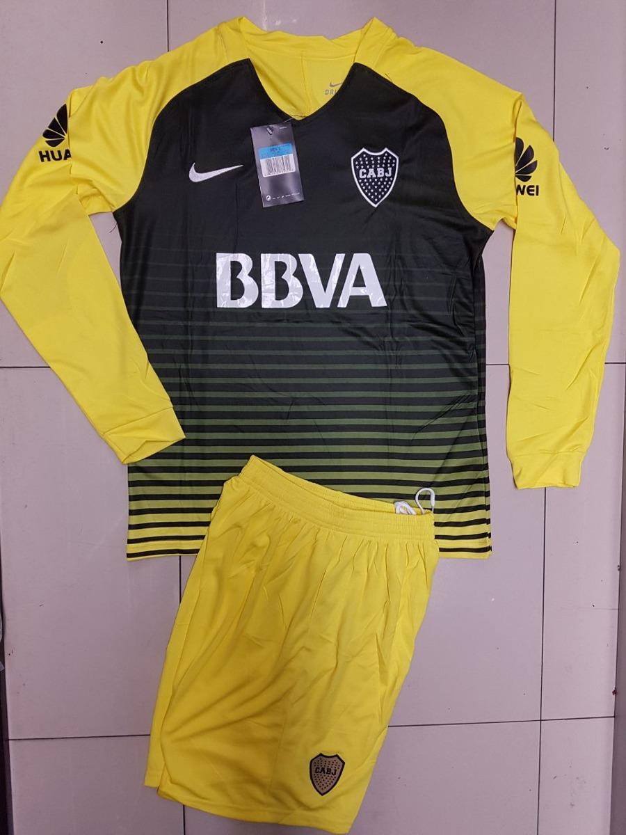 Uniforme De Fútbol Boca Juniors Manga Larga -   39.900 en Mercado Libre 8594e3a78bb6b