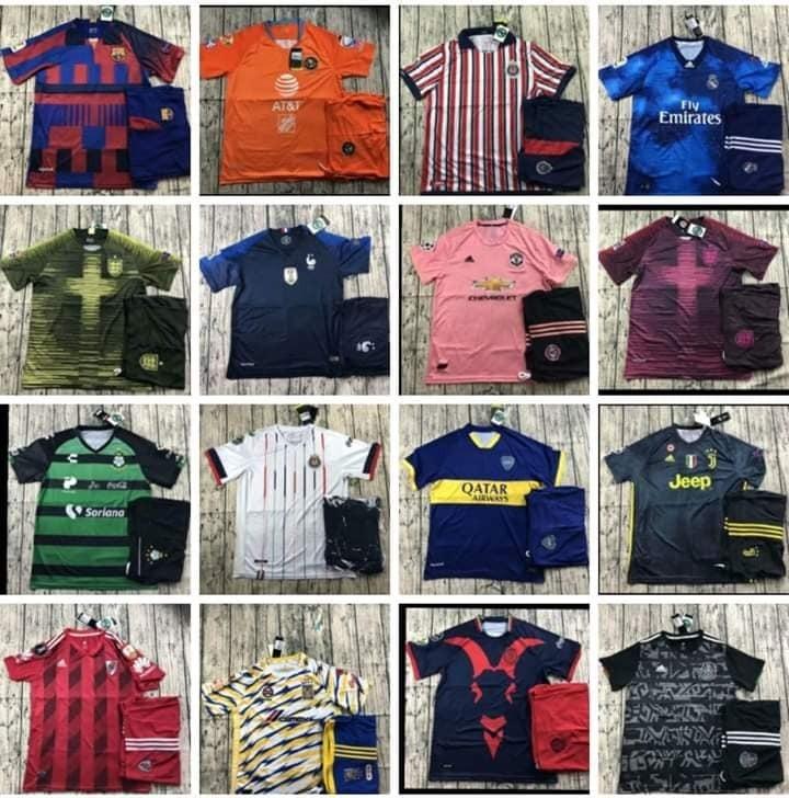 Uniforme De Futbol Completos Cualquier Equipo Personalizados ... c07c16b527879