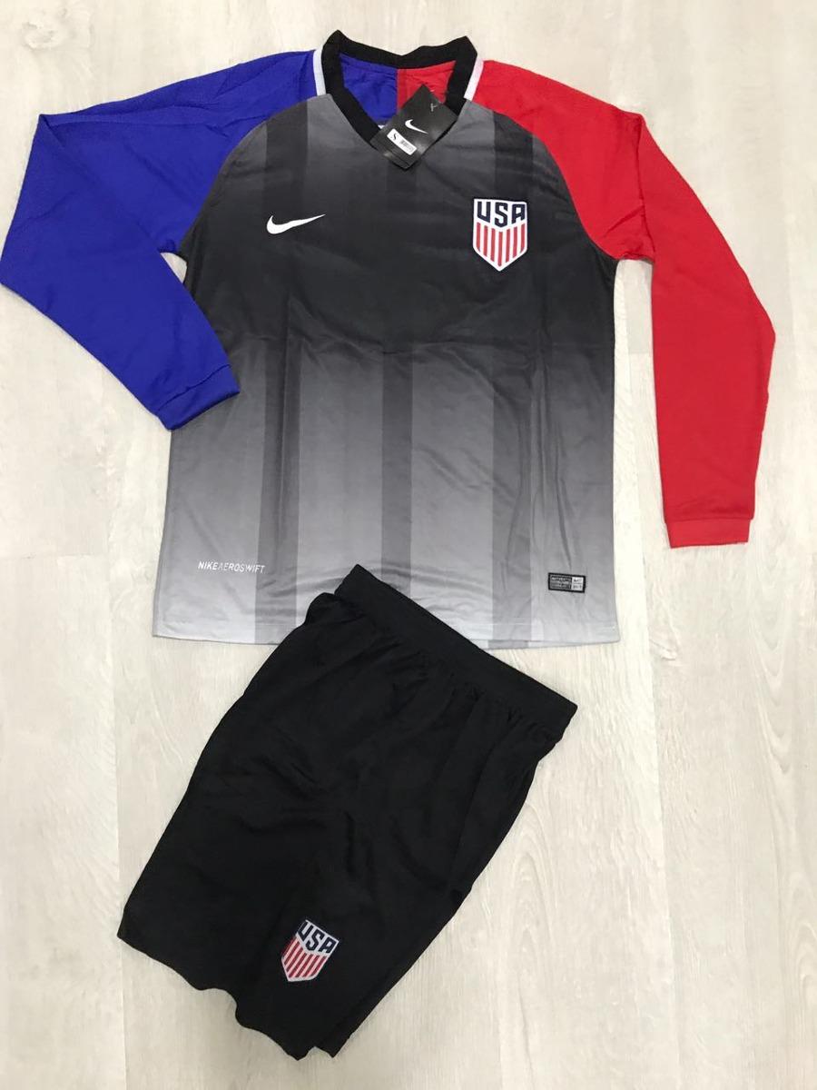 Uniforme De Fútbol Estados Unidos Manga Larga -   39.900 en Mercado ... b780020b86b46