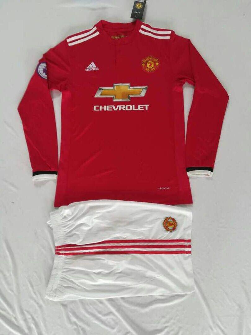 Uniforme De Fútbol Manchester United Manga Larga -   39.900 en ... 880ba7ee4ac89