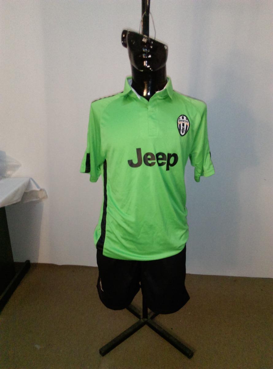 uniforme de futbol negro con verde de juventus talla 36. Cargando zoom. 9a44af7045b48