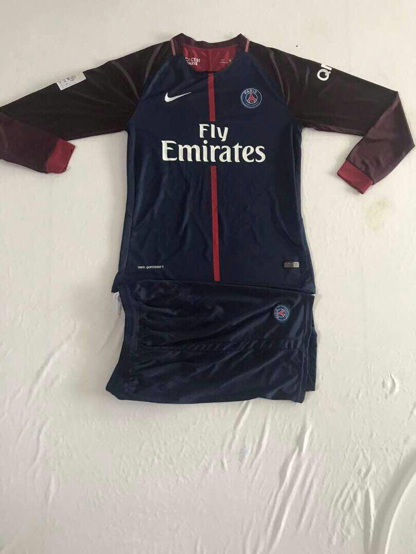 Uniforme De Fútbol París Saint-germain Manga Larga -   39.900 en ... eb1d9cb4e96b1