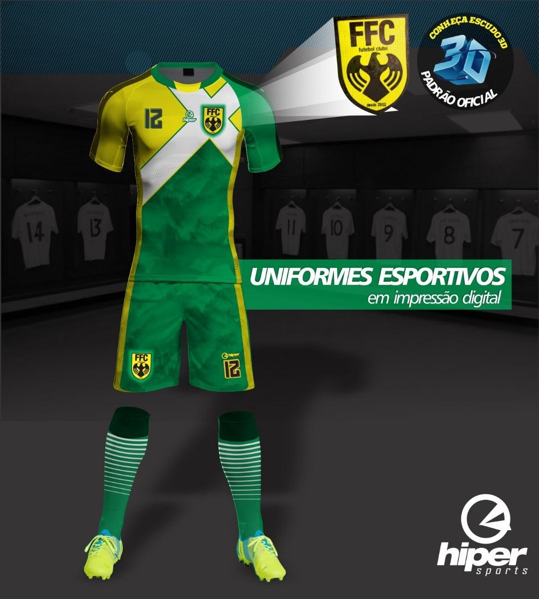 uniforme de futebol 20 camisas+20 calções em dri + 20 meiões. Carregando  zoom. 7c6cc5162fbf2