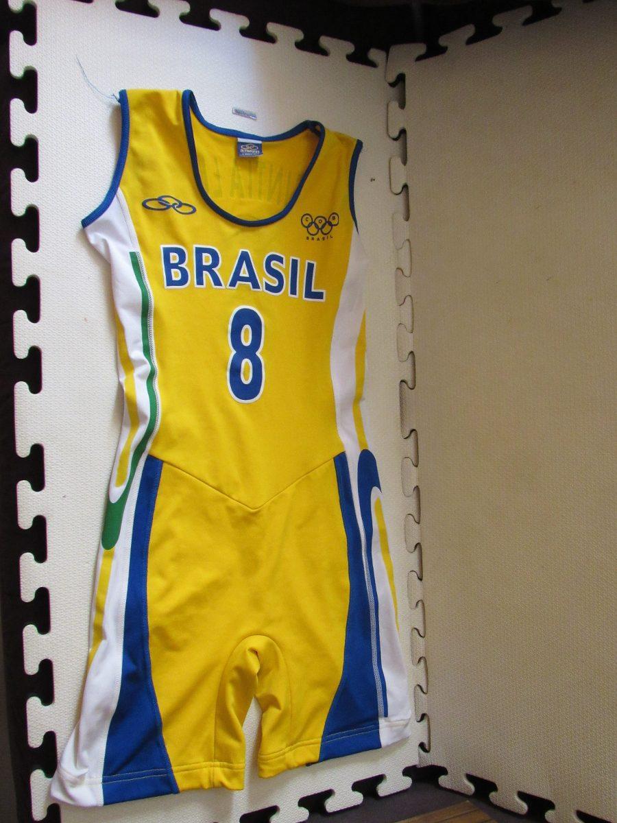 82e092e06ec3a uniforme de jogo seleção brasileira basquete feminino. Carregando zoom.