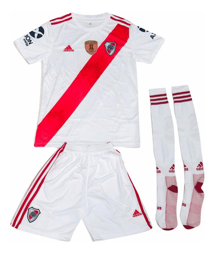 uniforme de river plate con medias 2019 envio gratis
