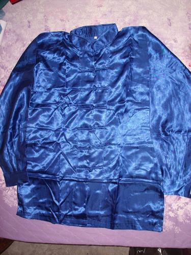 uniforme de taichi , kunfu , wushu unicolor importado