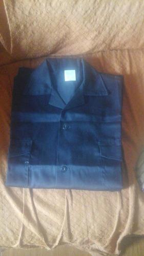 uniforme de trabajo  pantolon y camisa color azul