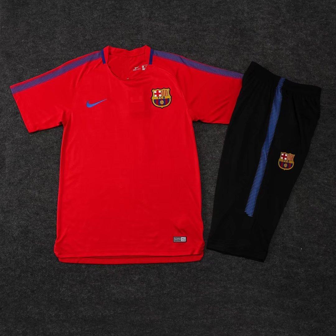 uniforme de treino barcelona 2018 19 vermelho (frete grátis). Carregando  zoom. 92df157899b03