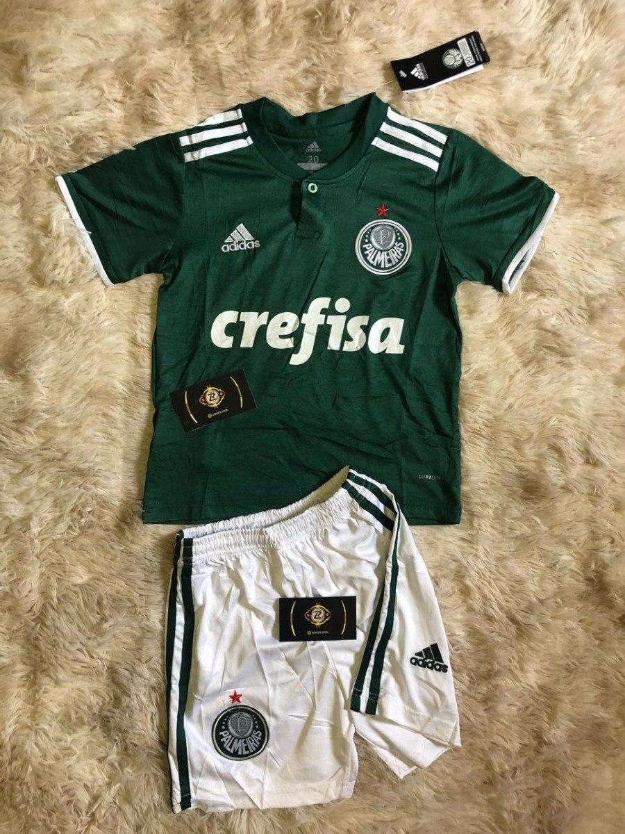 86d92e6093 uniforme do palmeiras infantil original 2018 - promoção. Carregando zoom.