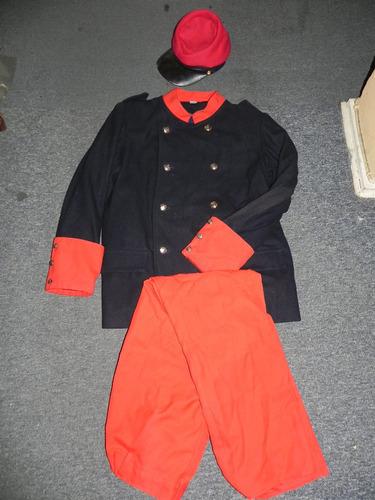 uniforme ejercito chileno g. del p.  replica escolar