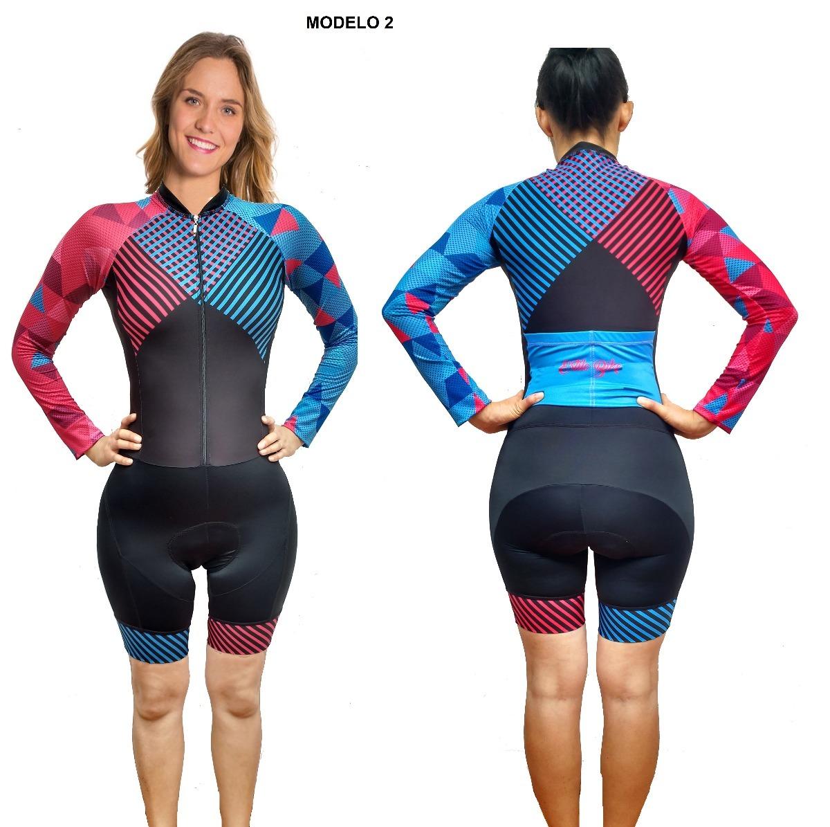 Uniforme Enterizo Ciclismo Mujer -   184.900 en Mercado Libre b4feca69edc88