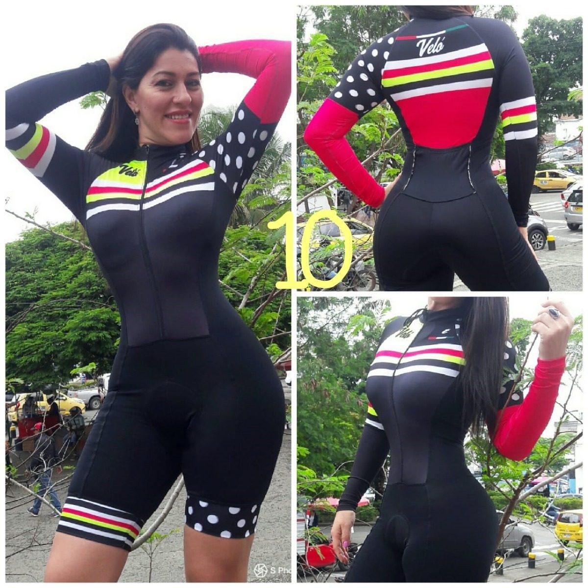 Uniforme Enterizo Ciclismo Mujer Badana 3d -   169.000 en Mercado Libre 5cbe7aca1e6d2