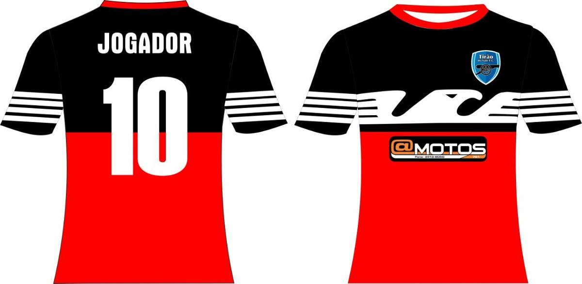 8577231287a7b Uniforme Esportivo Personalizado Futebol - R  70