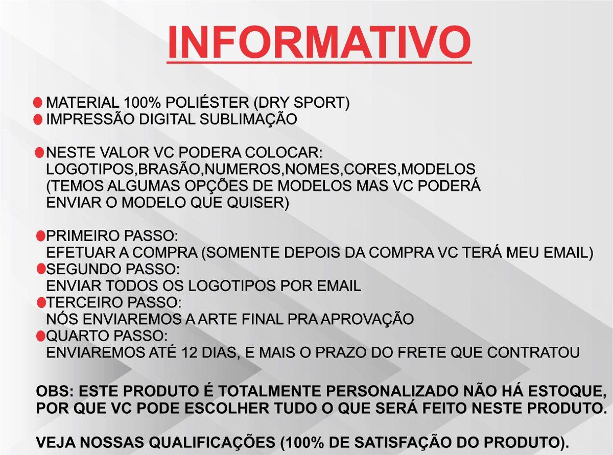 uniforme esportivo personalizado futebol chacara futsa 22cnj. Carregando  zoom. 6f2d87a2ca701