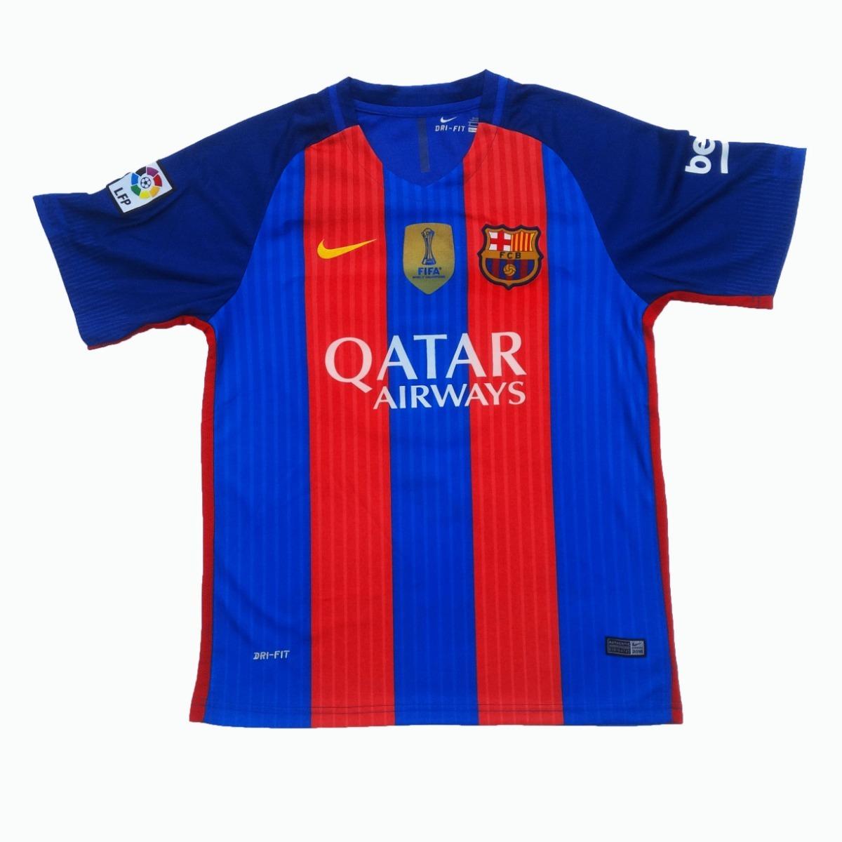 15ce4f44fd2a1 uniforme fc barcelona 2016-2017 local adultos messi suarez. Cargando zoom.
