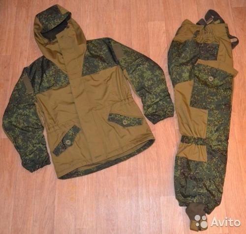 uniforme fuerzas especiales gru rusas gorka 3 bars