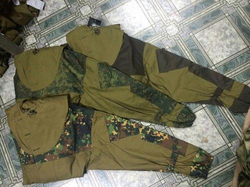 uniforme fuerzas especiales gru rusas gorka 3 bars original