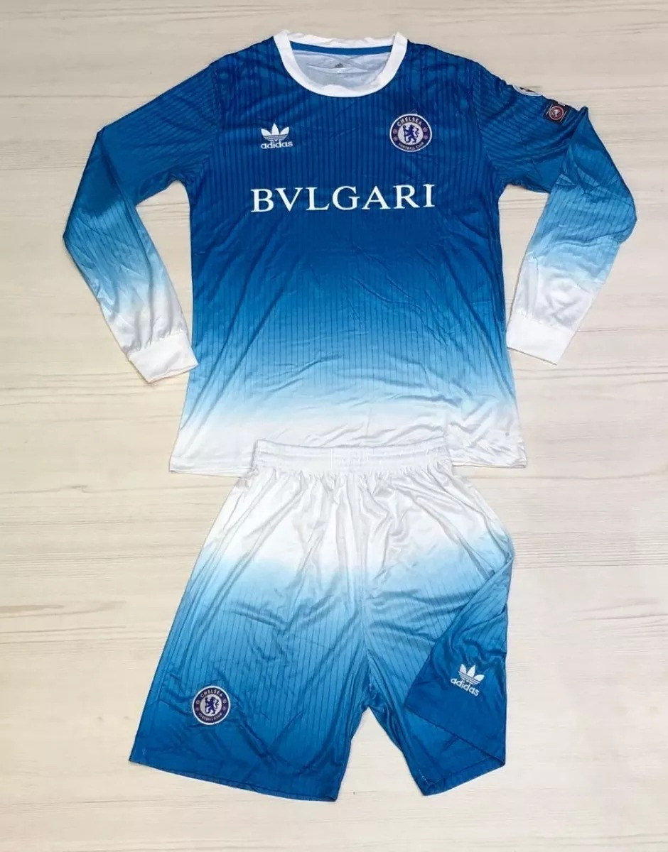 b6be07bd34 Uniforme Futbol Manga Larga Adulto Chelsea 2018-2019 - $ 100.000 en ...