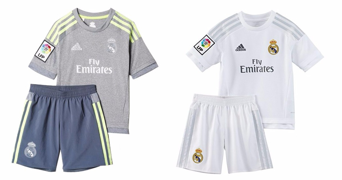 Uniforme Futbol Real Madrid Niño - $ 125.000 en Mercado Libre