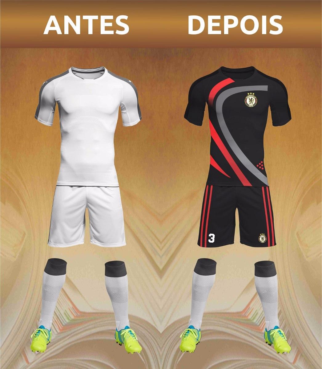 uniforme futebol personalizado fardamento esportivo. Carregando zoom. 1768e301f6055