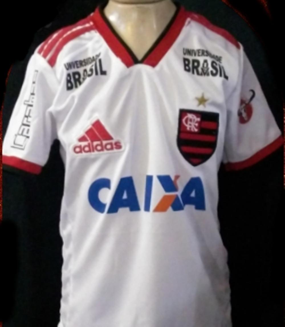 8b87d96278 ... adidas - Masculina  d013c38cd54 Uniforme Infantil Branco Flamengo Camisa  E Calção Futebol - R 25