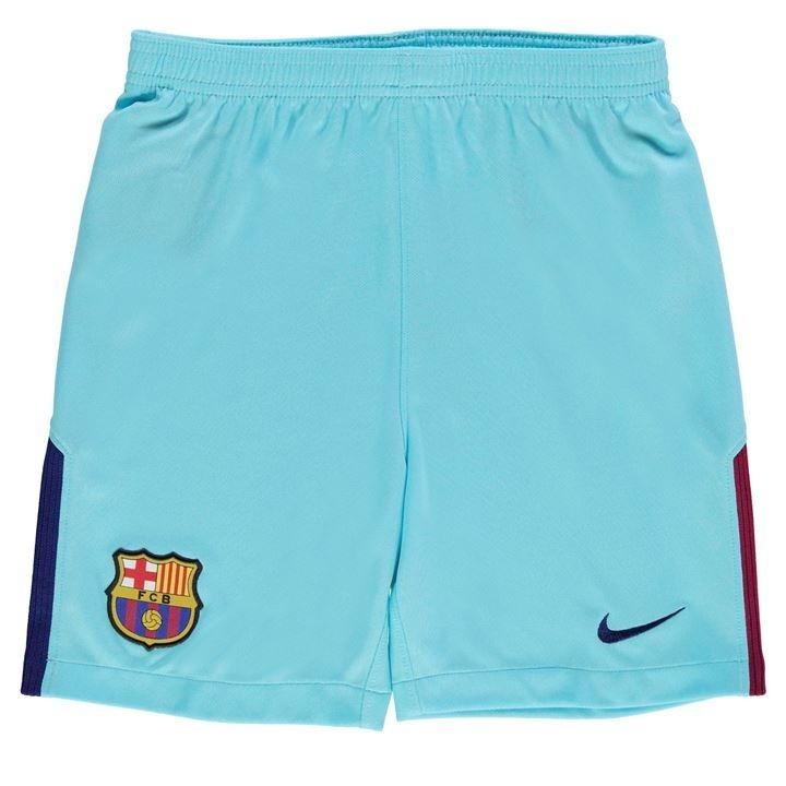 Uniforme Infantil Camisa E Shorts Barcelona 2017 Oficial - R  99 f0b83816b48