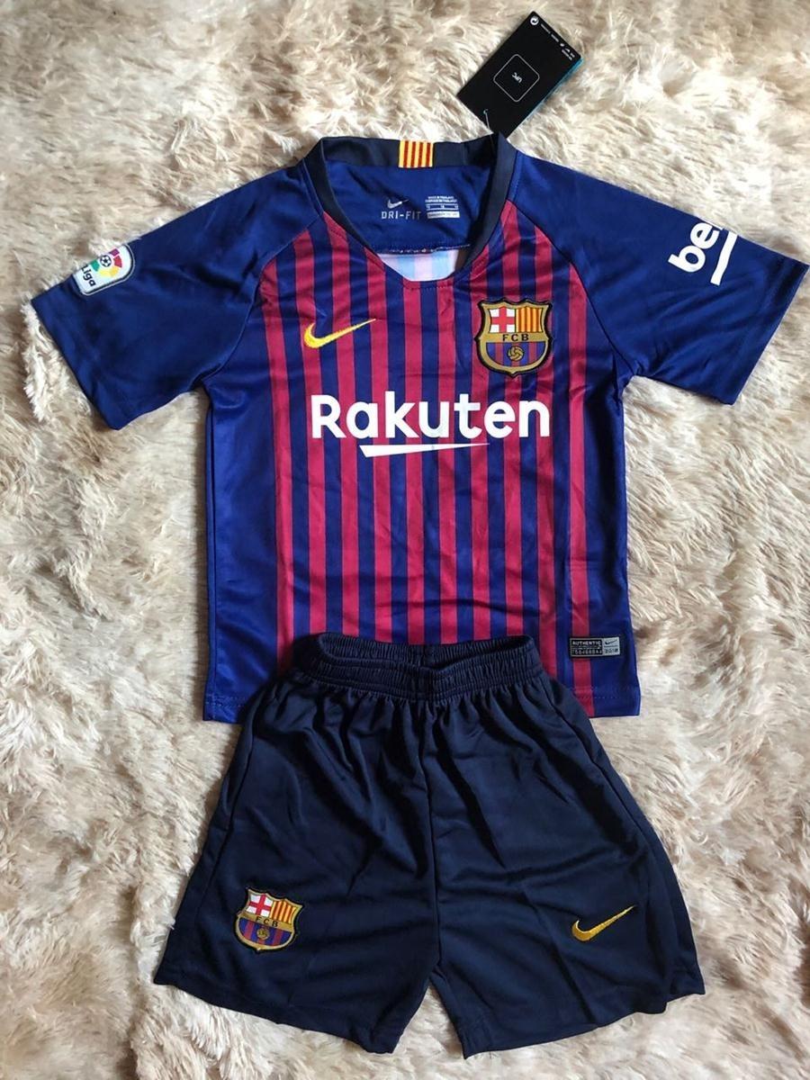 9f8e996d0 uniforme infantil do barcelona original personalize - oferta. Carregando  zoom.