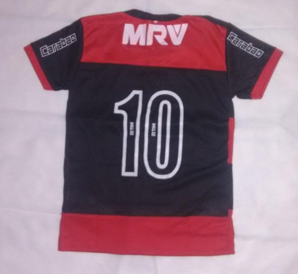 uniforme infantil flamengo camisa e calcao futebol promocao. Carregando zoom . 51d0b320962dd