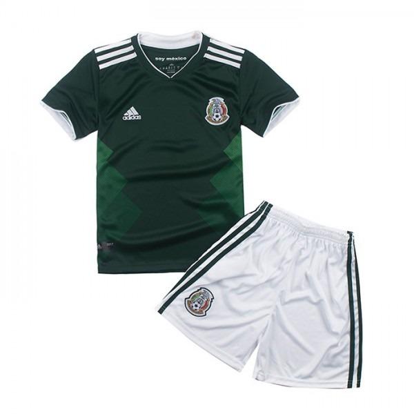 Uniforme Infantil Seleção Do Mexico Oficial Copa 2018 adidas - R ... 8d4e1d877390f