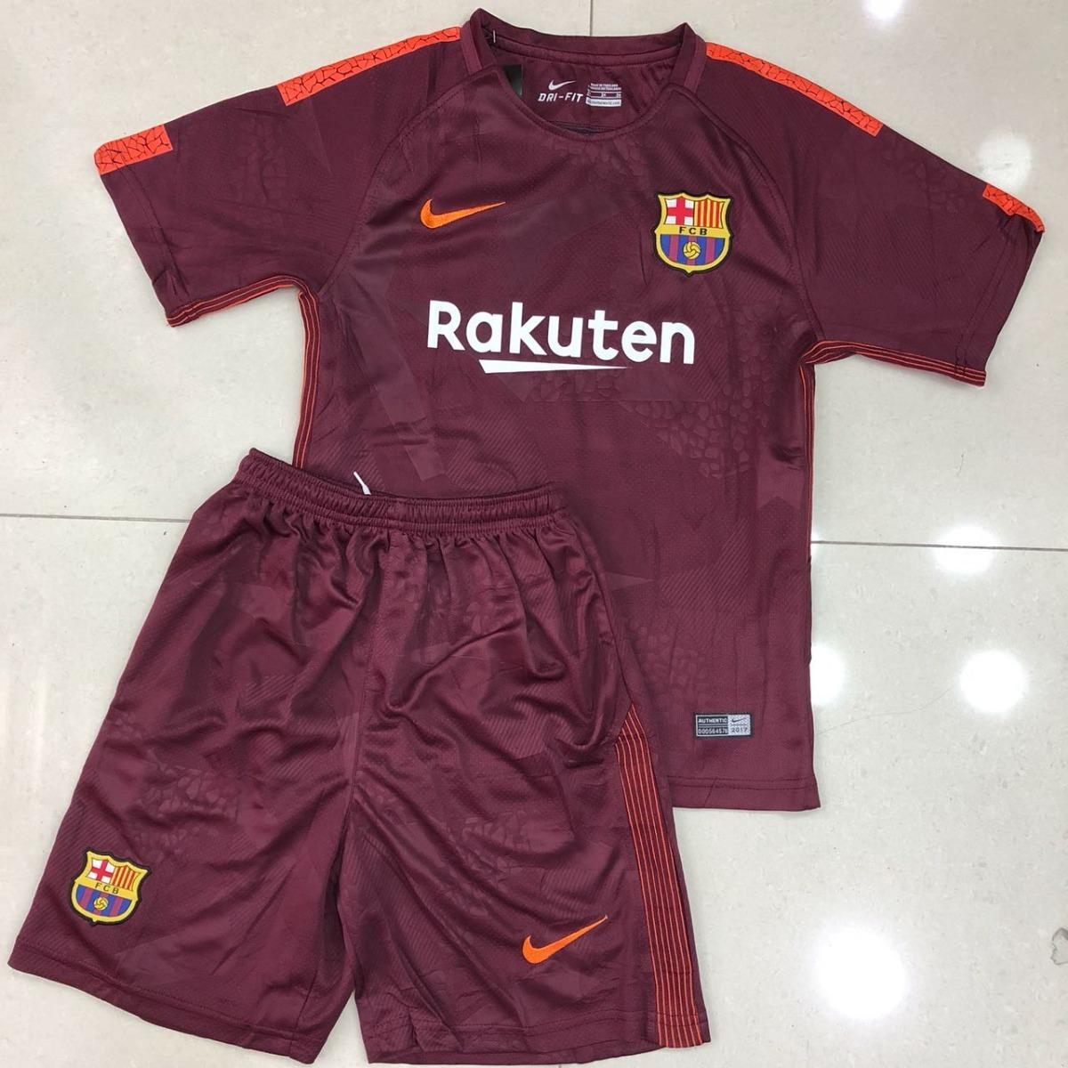 bfd2579f65 uniforme infantil juvenil camisa e shorts barcelona 2017 thi. Carregando  zoom.