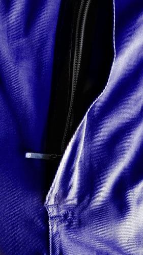 uniforme macacão profissional brim pesado 100% algodão sant.
