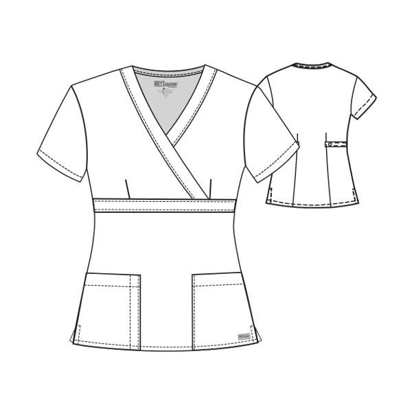 Uniforme Medico Greys Anatomy Para Dama Modelo 4153 149999 En