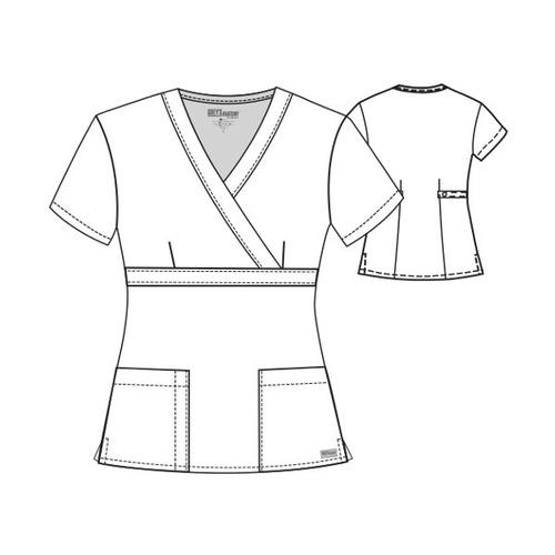 uniforme medico greys anatomy para dama modelo 4153
