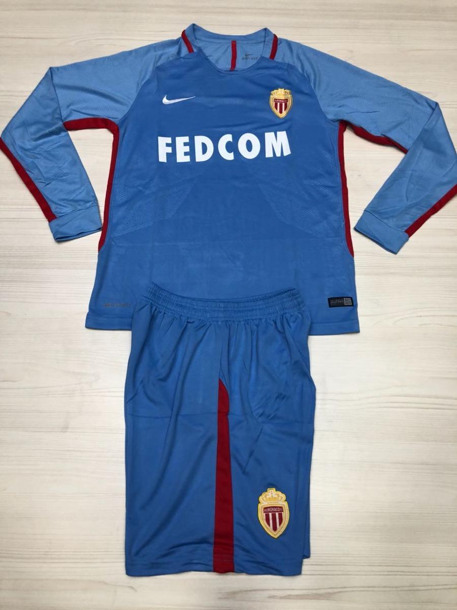 Camiseta AS Monaco manga larga