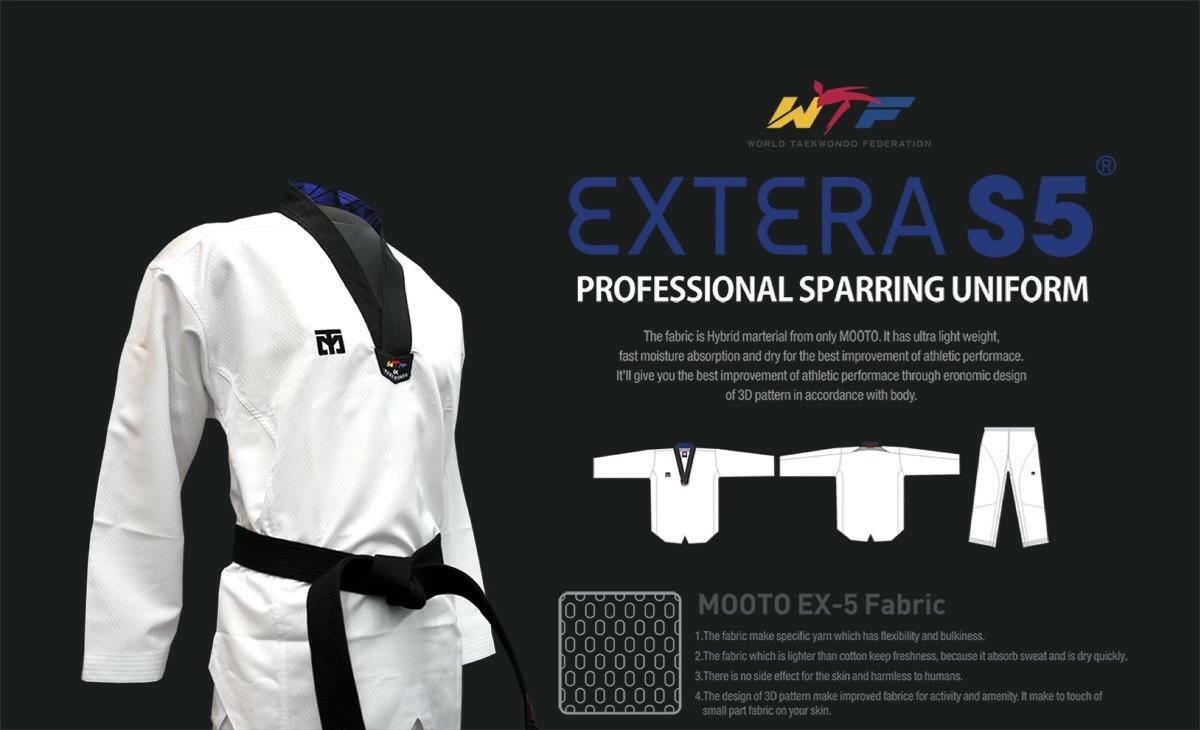 Uniforme Mooto - Extera S5 Taekwondo Súper Ligero