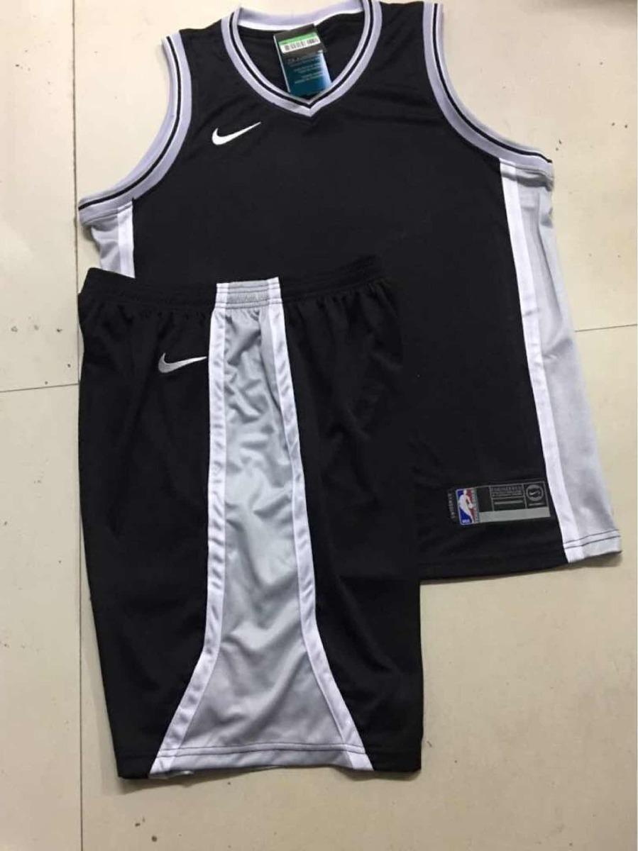 uniforme nike colores spurs negro y plata todas las tallas. Cargando zoom. 5451dbe73272f