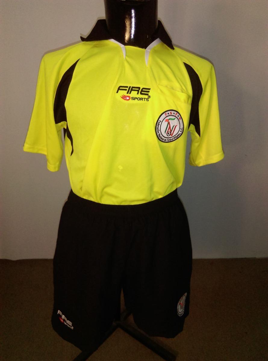 4fb4d9d588609 Uniforme Para Arbitro De Futbol Amarillo Talla Mediana -   350.00 en ...