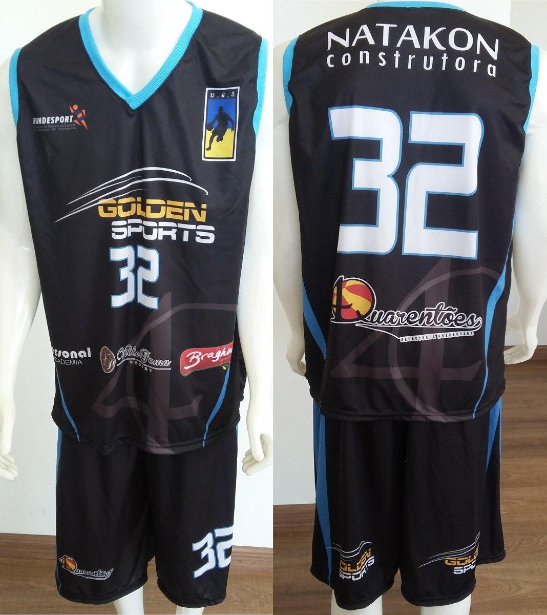 d2b73ac675 uniforme personalizado basquete regata + calção 12cnj. Carregando zoom.