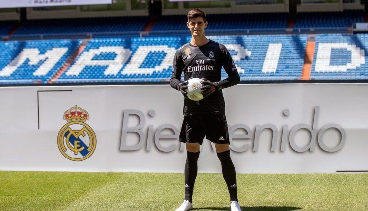 Uniforme Portero Real Madrid Courtois Negro Manga Larga