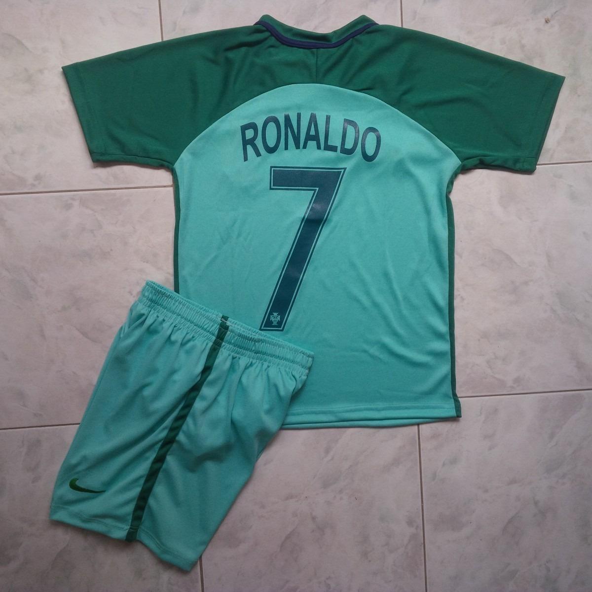 uniforme portugal local visitante eurocopa 2016 niños. Cargando zoom. a5f9c4d8a31c9