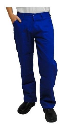 uniforme profissional calça brim azul ( pedreiro, mecânico)